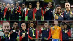 Artistic Gymnastics, Olympic Gymnastics, Madison Kocian, Laurie Hernandez, Simone Biles, Gabby Douglas, Aly Raisman, Good Morning America, Rio 2016