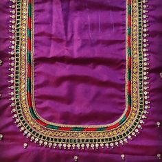 Work for olny 800 if u want mgs me Cutwork Blouse Designs, Kids Blouse Designs, Wedding Saree Blouse Designs, Pattu Saree Blouse Designs, Simple Blouse Designs, Handmade Embroidery Designs, Peacock Embroidery Designs, Hand Work Design, Hand Work Blouse Design