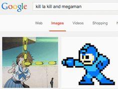 Hmm ... (Kill la Kill x Mega Man)