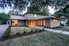 Monday Morning Millionaire II: Mid Century Gem Owned by a Caruth Family Member Gets Whole New Lease on Life...