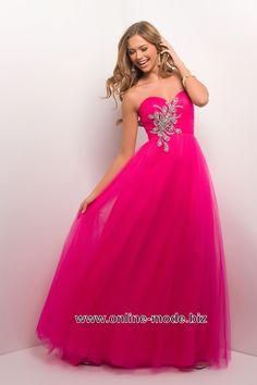 Empire Abendkleid in Pink von www.online-mode.biz