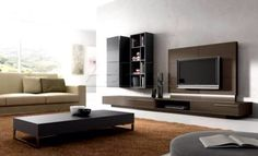 livingroom:Wall Units For Living Room Modern Tv Ideas In India Mounted Cabinet Units Furniture Simple Inspiring Fabulous Wall Unit Designs For Living Room Living Room Cabinets, Living Room Tv, Modern Tv Wall Units, Modern Wall, Modern Contemporary, Modern Design, Lavabo Design, Wall Unit Designs, Muebles Living