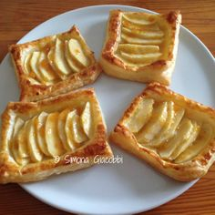 Biscotti, Pastry And Bakery, Baking And Pastry, Apple Recipes, Cake Recipes, Apple Danish, Confort Food, Cocktail Desserts, Fruit Tart