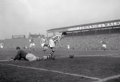 Arsenal vs West Bromwich Albion at The Hawthorns 1957.