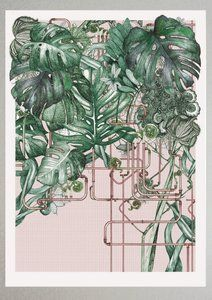 Image of Barbican Center Conservatory - Pipes&Leaves