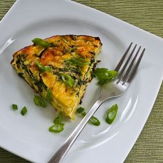 Kalyn's Kitchen®: Artichoke, Kale, and Ricotta Pie with Eggs and Parmesan (Low-Carb, Gluten-Free)