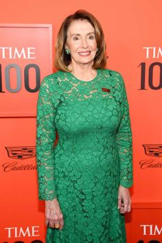 Nancy Pelosi Photos - Nancy Pelosi attends the TIME 100 Gala Red Carpet at Jazz at Lincoln Center on April 2019 in New York City. Nancy Pelosi Young, Jazz At Lincoln Center, Sandra Oh, Time 100, How To Look Handsome, Looking Dapper, Influential People, Signature Look
