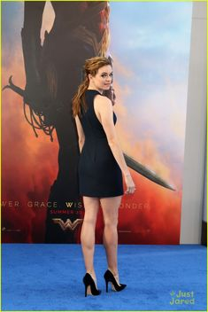 Danielle Panabaker, Little Black Dress and Pointed toe heels. Beauty on High Heels #Fashion