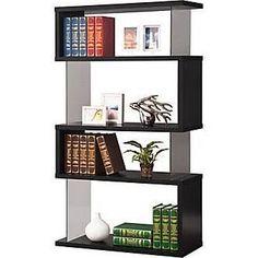 Black Contemporary Bookcase