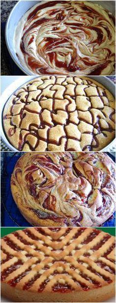 Bolo Mesclado de Goiabada…LINDO E DELICIOSO!! VEJA AQUI>>>Bolo Mesclado de Goiabada…LINDO E DELICIOSO!! #receita#bolo#torta#doce#sobremesa#aniversario#pudim#mousse#pave#Cheesecake#chocolate#confeitaria Sweet Recipes, Cake Recipes, Snack Recipes, Cooking Recipes, Snacks, Trifle, Apple Cinnamon Bread, Making Sweets, Pastel Cakes