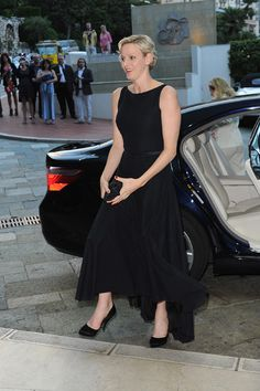 Royal life going swimmingly for Princess Charlene - she's looking good lately. Do you agree?