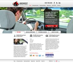 Are you looking for a driving school for your teenagers? Midwest Driving School is the best option for you. They have licensed and insured instructors that offer driving lessons in various schools. They also conduct safety trainings to give new drivers the confidence in the road. At Midwest Driving School, you can assure that you will be in the #fastlane of successful driving!  For more #webdesigns, visit us at www.customadesign.com