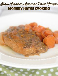 Recipe - Slow Cooker Apricot Pork Chops #SlowCooker