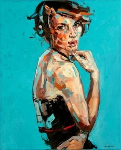 The Anna BOCEK exhibit at the Canfin Gallery - New York Spaces - May 2011 - New York, NY