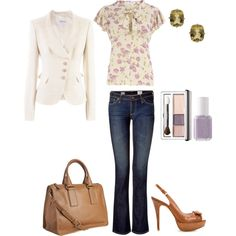 Candy Blossom Blouse MWUB Spring12, created by midwesturbanite on Polyvore