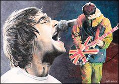 Liam y Noel
