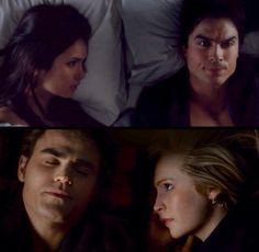 Except I dont like Caroline and Stefan together