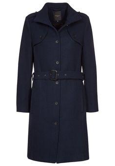 Selected Femme ANVA Classic coat blue