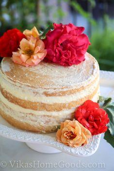 Naked Mango Cake