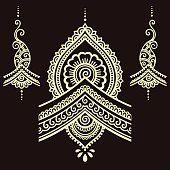 Dehna Tätowierung Blume Vorlage. Mehndi. Henna Tattoos, Henna Tattoo Stencils, Mandala Stencils, Henna Art, Flower Tattoos, Henna Designs, Rangoli Designs, Mehndi Flower, Henna Drawings