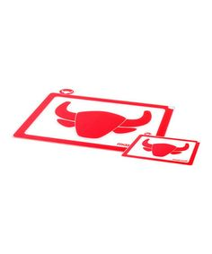 Red Meat Cutting Board - Set of Two #zulily #zulilyfinds