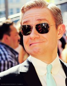 Martin, YOUR FACE IS DOING THINGS