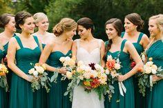 Fall Wedding at Hidden Valley Farms by Rachel Moore