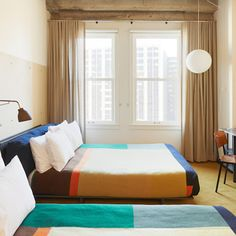 Los Angeles Blanket - Designed by Commune, made by Pendleton for Ace Hotels, Queen or King size, $425