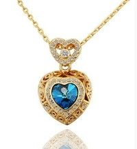 I think you'll like 18K Yellow Gold Plated Pendant Necklace N561. Add it to your wishlist!  http://www.wish.com/c/53314a1cb9ee841f912461aa