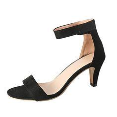 Lh$yu Sandales Femme Womens High Heel Pl