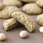 white chocolate macadamia shortbread cookies