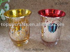 Mercury Stem Candle holders | Mercury Glass Candle Holders Bulk