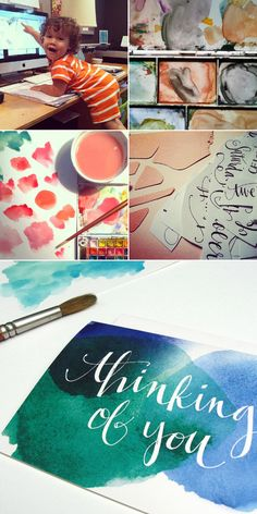 Beautiful water color cards