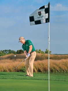 10 Ways To Improve Your Short Game   Instruction   Golf Digest Short Game Golf, Golf Now, Golf Wedges, Golf Card Game, Golf Chipping Tips, Volleyball Tips, Golf Videos, Golf Instruction, Golf Training