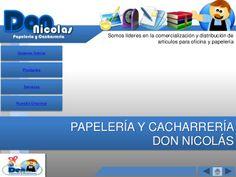 Papelería y Cacharrería Don Nicolás by Narke Latere via slideshare