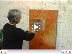 cold wax painting techniques   Artists will explore methods of building up abstract paintings in ...