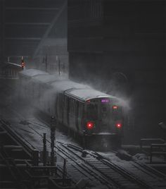 Moody Views of a Frigid Chicago Captured by Mike Meyers | Colossal