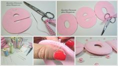 gdores.blogspot.pt | Working with felt ::: How to make felt letters | Tips and tricks for better results!