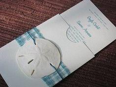 Sand Dollar Wedding Invitation. Pittsburgh Bride Talk Wedding Forum destination-weddings