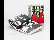 "Collector box ""Live from Montreux"" 4 books"