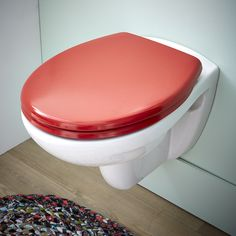 Abattant WC rouge