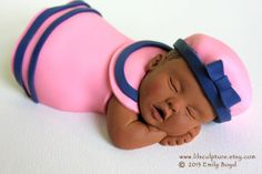 Baby Cake Topper Sailor Girl
