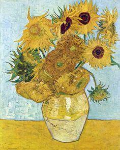 Los girasoles, (1888) Vincent van Gogh