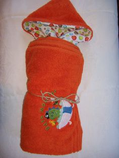 Bath Monster Hooded Bath Towel by familytreasures4 on Etsy, $24.00