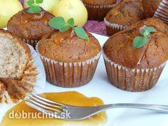 Fotorecept: Jablkové muffiny - Tieto muffiny som robila prvý krát keď som robila jablčné želé... odvtedy ich robievam celkom previdelne...