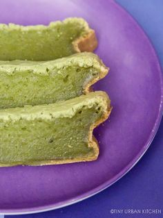 Matcha mochi cake recipe