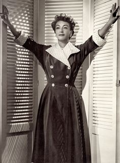 JOAN CRAWFORD 1952. from The Image Makers : Sixty Years of Hollywood Glamour (1973) (please follow minkshmink on pinterest) #joancrawford #fifties