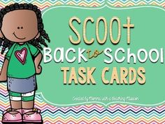 Back to School 20 Task Cards, perfect for getting the kiddos up and moving the first few days back to school. Also included is a recording sheet. I would recommend printing task cards on card stock, and laminating for durability. School Plan, Beginning Of The School Year, New School Year, First Day Of School, School Ideas, Welcome Back To School, Back To School Shopping, Going Back To School, First Day Activities