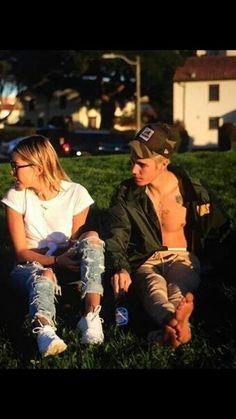 Justin and Hailey #justin #bieber #biebs #kidrauhl #jailey #cute
