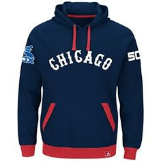 "Chicago White Sox Majestic MLB ""Forever"" Cooperstown Hooded Sweatshirt"
